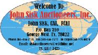 John Sisk Auctioneers, Inc.