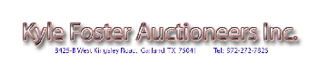 Kyle Foster Auctioneers Inc.