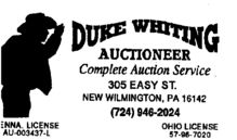 Duke Whiting Inc.