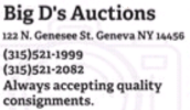Big D's Auctions